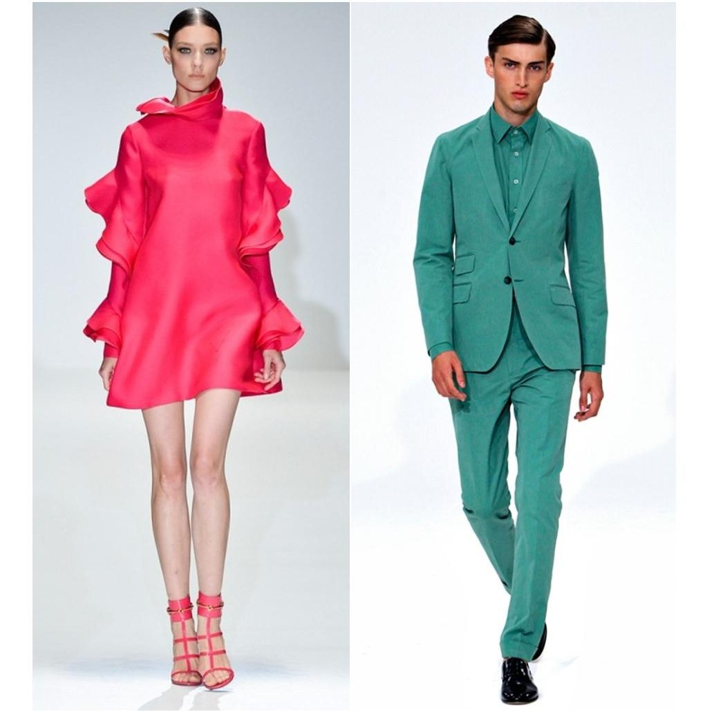 Paul Smith & Carlos Campos_Poppy red & Emerald