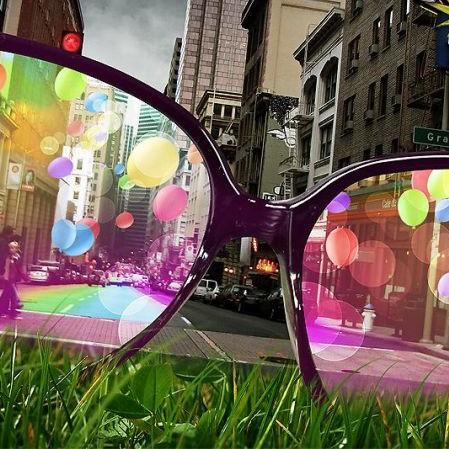 lunettes vision colorée