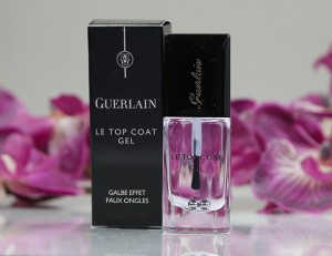 Gel top coat Guerlain effet faux ongles