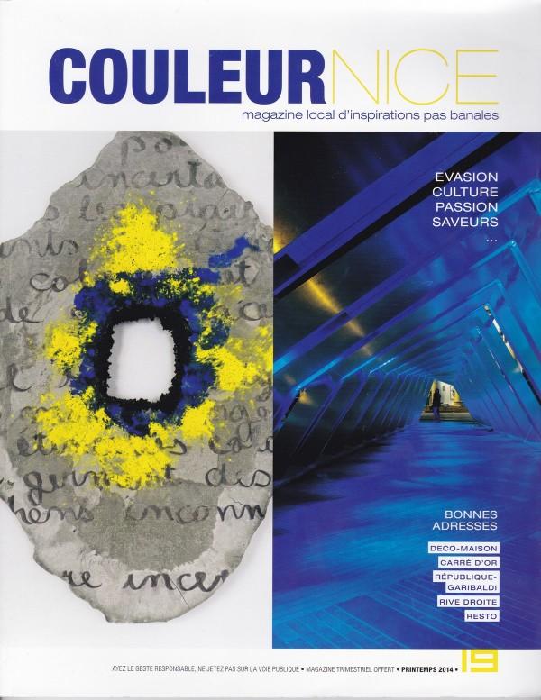 Couverture du magazine Couleur Nice printemps 2014