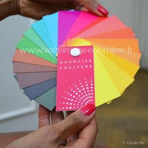 Nuancier couleurs Votre Image en Lumière pour Cécile Na