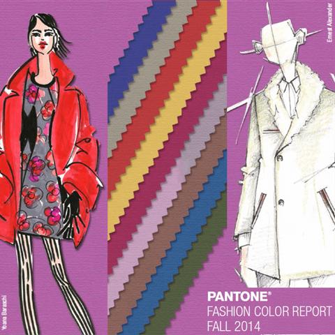 Couleurs Pantone automne 2014 Femmes et Hommes