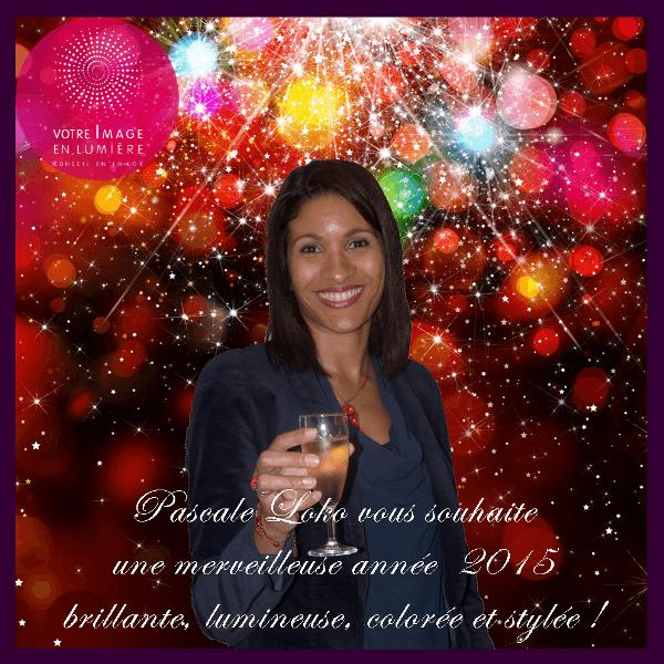 Pascale et Votre Image en Lumière vous souhaite une belle année 2015