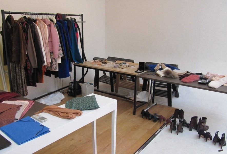 vêtements et accessoires pour la séance photo relooking couleurs