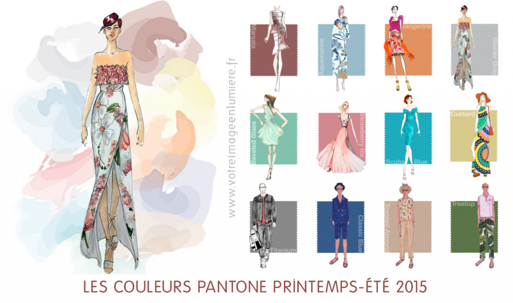 Couleurs Pantone printemps-ete 2015_presentation