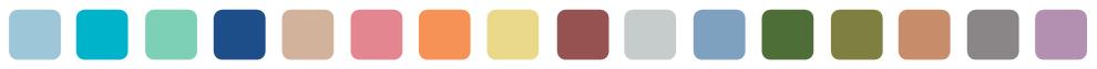 frise aux couleurs Pantone printemps-été 2015