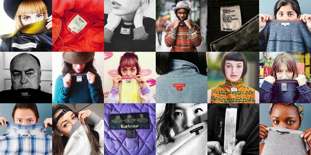 Campagne de Fashion Revolution pour savoir qui a fabriquer nos vêtements