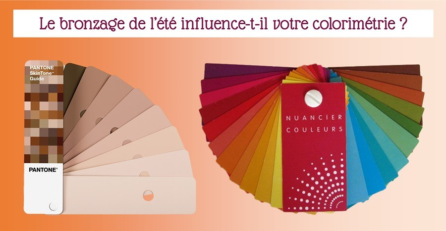 Colorimétrie et bronzage : influence ?
