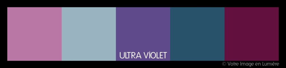 Ultra violet pantone 2018 - Harmonie analogue