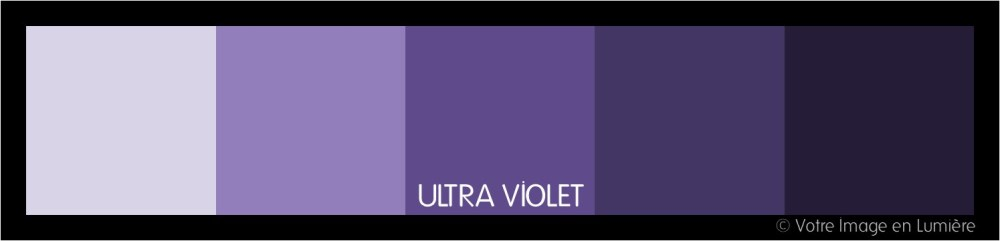 Ultra violet pantone 2018 - Harmonie analogue