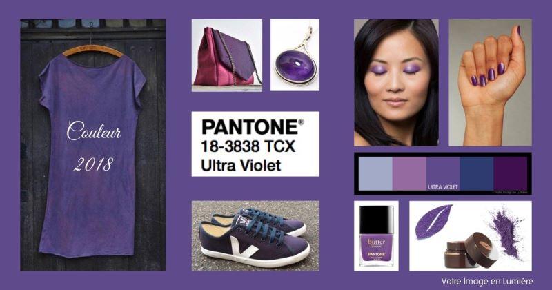 ultra violet couleur de l 39 ann e 2018 par pantone comment la porter. Black Bedroom Furniture Sets. Home Design Ideas