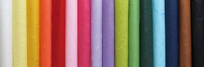 Papier couleur recadrée