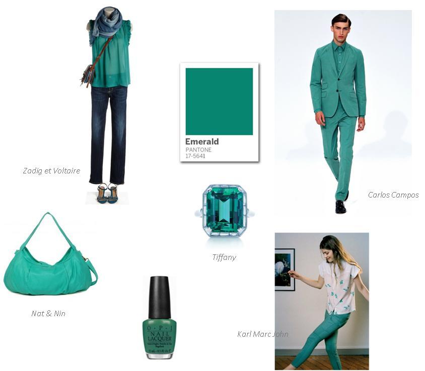 Couleur emerald_été 2013