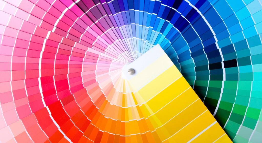Nuancier couleurs et dégradés