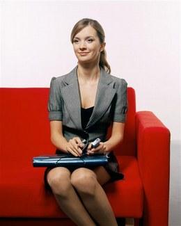 Posture femme travail et entretien d'embauche