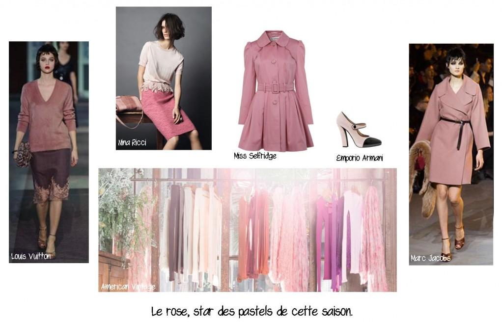 Le rose, star des pastels, conseil en image, relooking, makeover