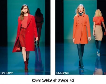 Rouge Samba et Orange Koï