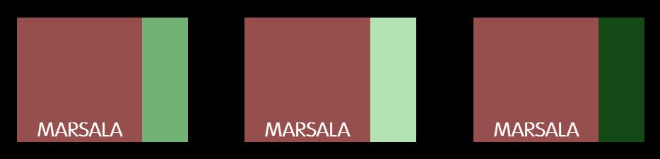 Harmonie complémentaire Marsala