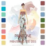 illustration du créateur Dennis Basso pour Pantone