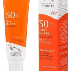 La protection solaire Alga Maris indice 30 des Laboratoires de Biarritz