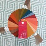 colorimétrie - nuancier couleurs personnalisé - couleurs chaudes