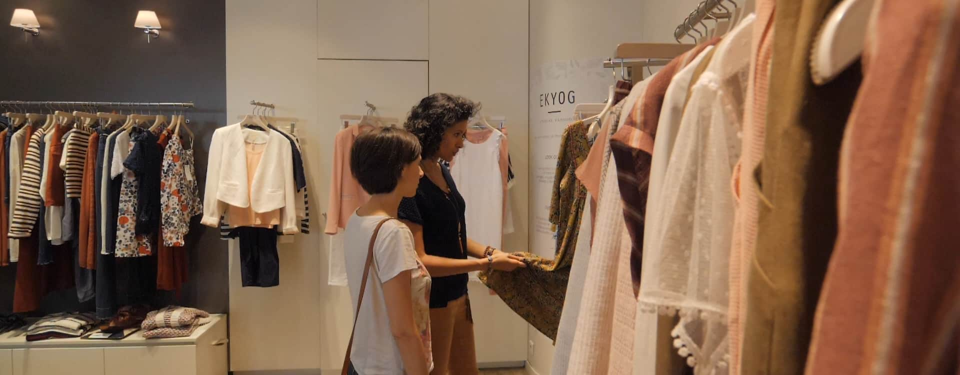 accompagnement shopping, accompagnement boutique, mode ethique