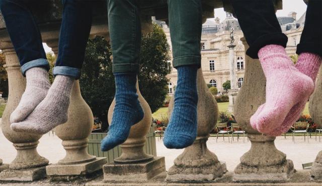 chaussettes écoresponsables - Chaussettes Orphelines
