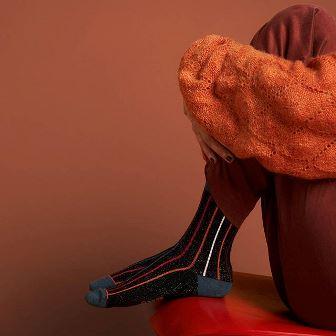 Chaussettes écoresponsables Qnoop en coton bio pour femmes