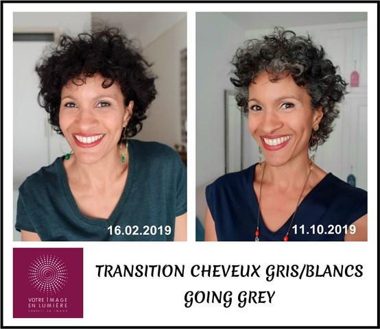 Transition cheveux gris - laisser pousser mes cheveux blancs gris