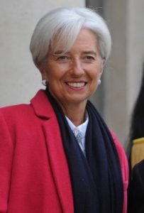 Christine Lagarde assume ses cheveux blancs