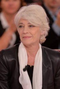 Françoise Hardy assume ses cheveux blancs