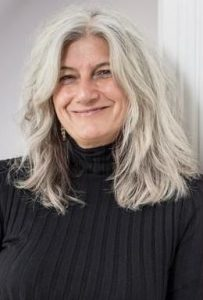 Sophie Fontanel porte-parole des cheveux blancs